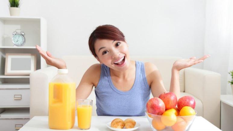 cara diet sehat tanpa olahraga