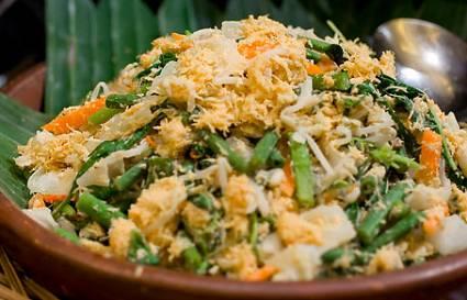 urap sayuran khas sunda